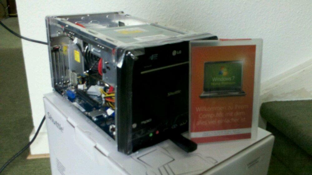 Computer zusammengebaut