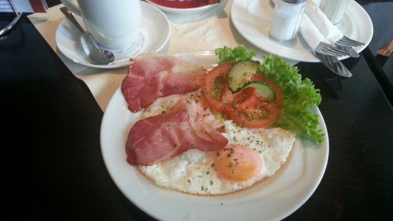 Frühstück mit Deko