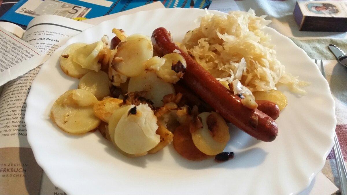 Mittach mit Bratkartoffel