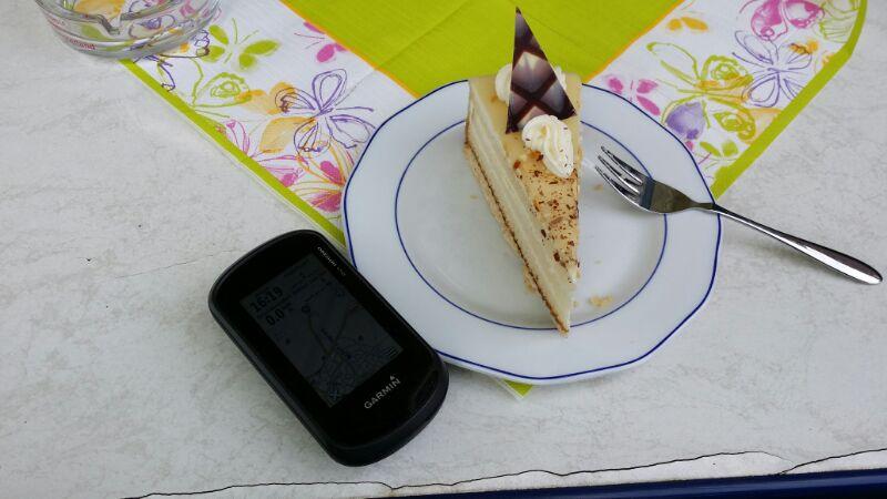 Garmin und Kuchen
