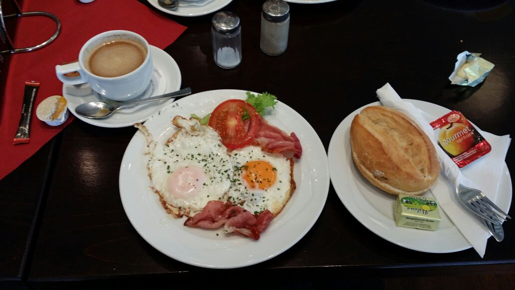 Arbeitsfrühstück