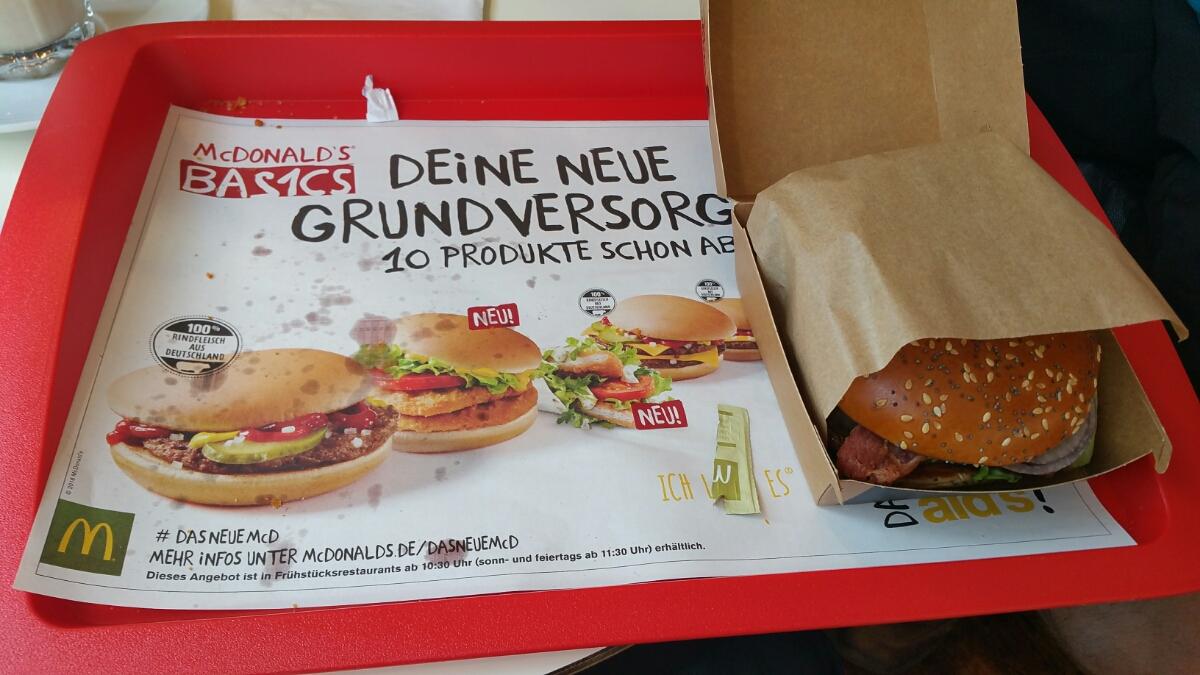 Nederlandse Maestro in duitse McDonald s