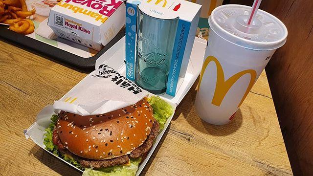 Glas in T rkis und ein neuer Burger
