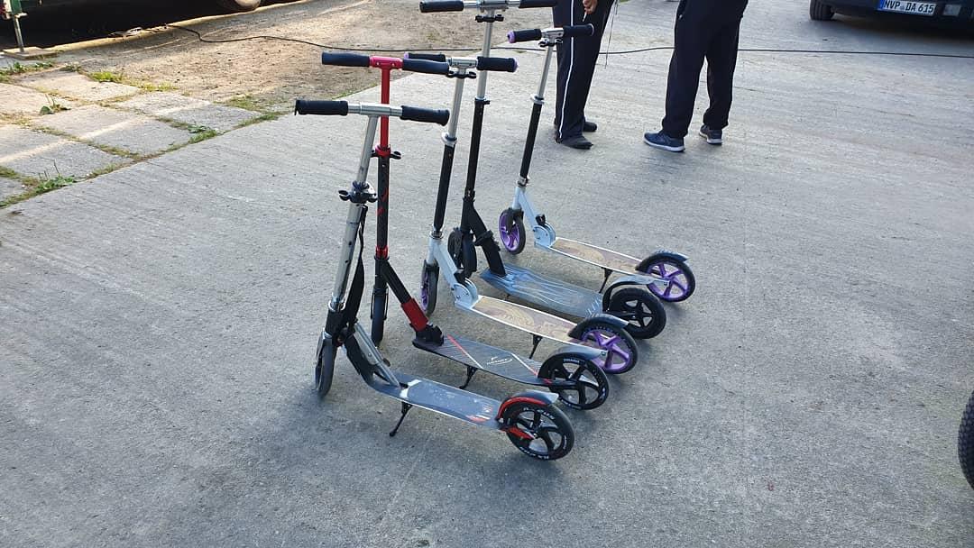 E Scooter ohne Motor ?