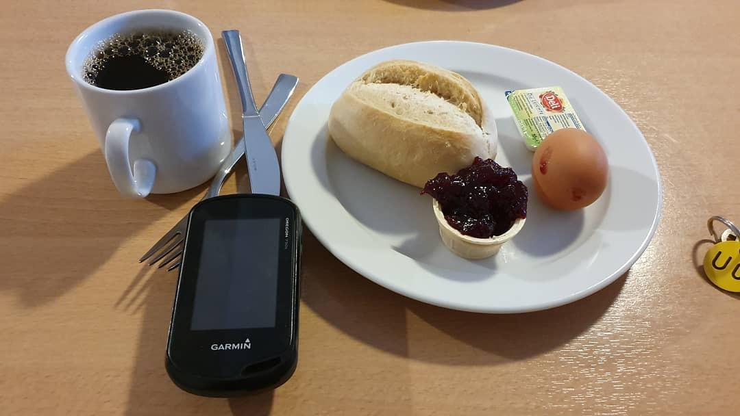 Frühstück in der Burg