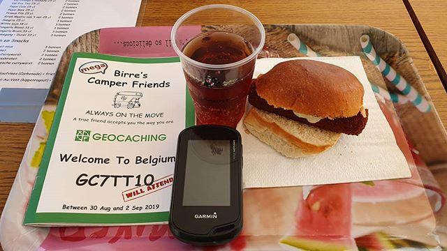 Mittagessen in Belgien