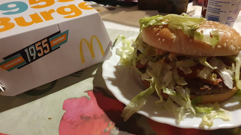 Zur ck in die Vergangenheit 1955 Burger