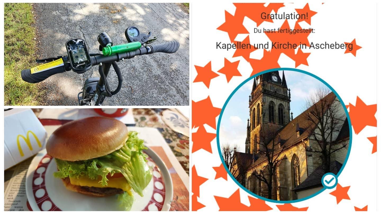 Cache und Burger teamlagelanden tll