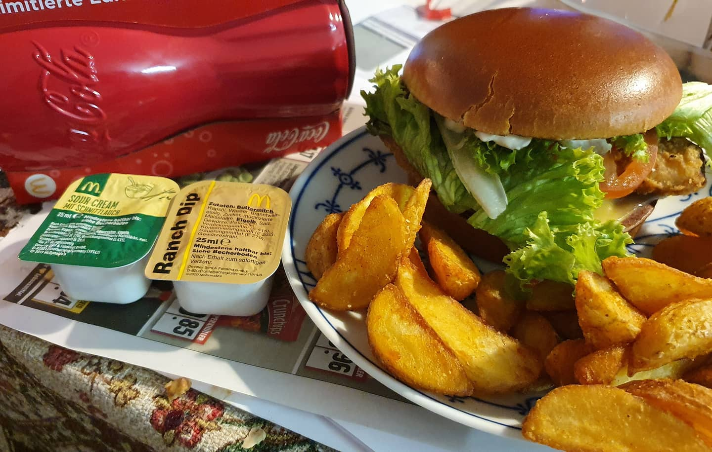 McMittag mit rotem Glas